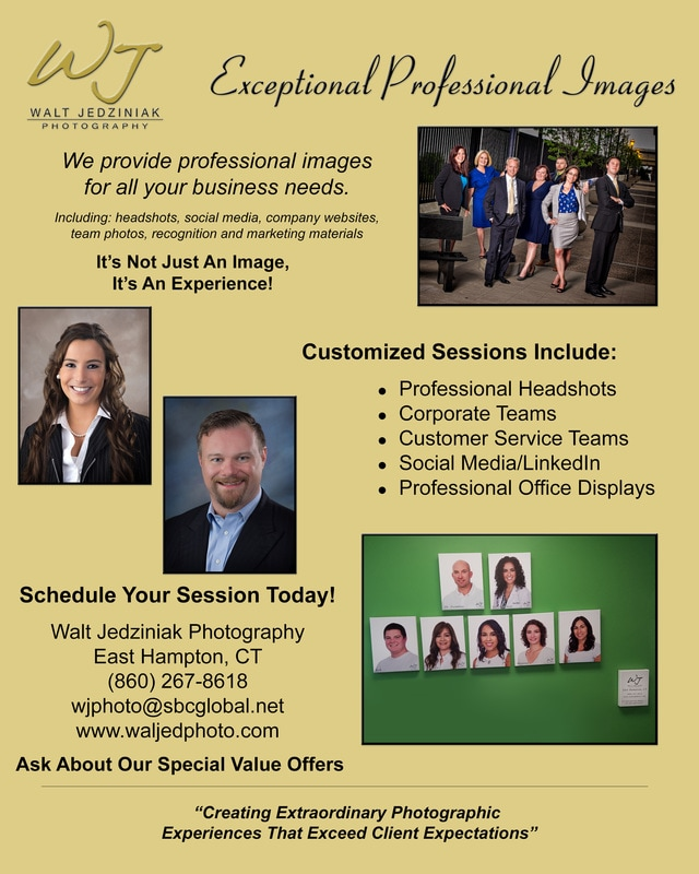 Corporate Headshots Flier